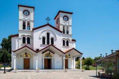 Ιερός Ναός Αγίου Γρηγορίου Θεολόγου Νέας Καρβάλης