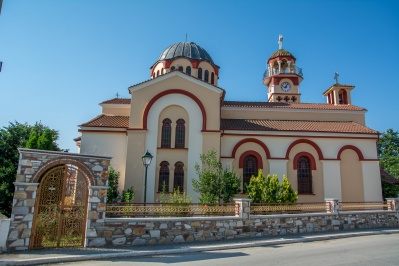 Church of saint Triada in Polystylo, Kavala