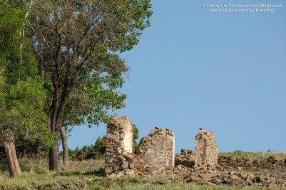 Ruins of the Byzantine city of Gratianos