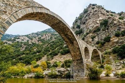 Μεσαιωνική γέφυρα στον Πολύανθο