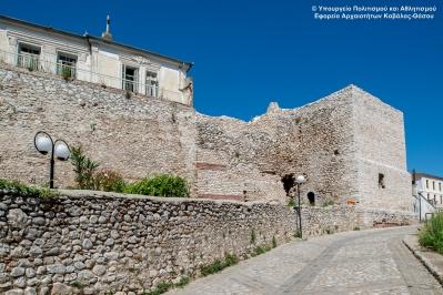 Κάστρο Δράμας (Βυζαντινά Τείχη)