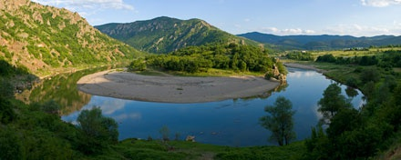 Ελικοειδή σημεία του ποταμού Άρδα