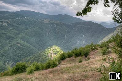 Μεσαιωνικό φρούριο Krivus κοντά στο χωριό Bashevo