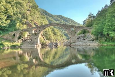 Γέφυρα του Διαβόλου, κοντά στο χωριό Dyadovtsi