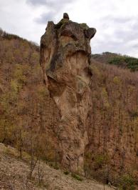 Πέτρινο φαινόμενο Ollan Kaya κοντά στο χωριό Murga