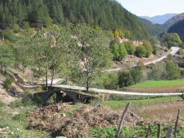 Γέφυρα Kenaren πάνω στον ποταμό Malka Arda, χωριό Malka Arda